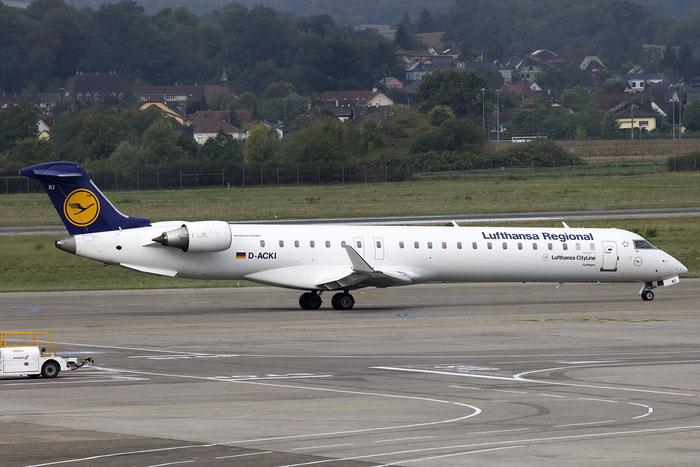 D-ACKI CRJ900ER 15088 Lufthansa CityLine @ Basel Airport 09.2015 © Piti Spotter Club Verona