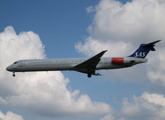 OY-KHC MD-82 49436/1303 SAS Scandinavian Airlines - Scandinavian Airlines System @ London Heathrow Airport 08.2007 © Piti Spotter Club Verona