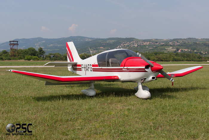 F-HAFG Apex Industries DR-400/140B DR40 2580 @ Aeroporto Verona Boscomantico © Piti Spotter Club Verona
