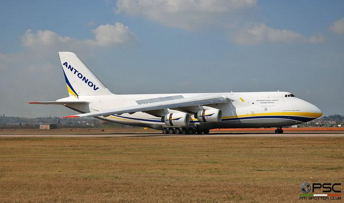 UR-82073 Antonov An-124-100 Ruslan - MSN 9773054359139 @ Aeroporto di Verona 04.2019  © Piti Spotter Club Verona