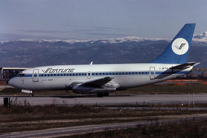 I-JETA  B737-229  21839/593  Fortune Aviation  @ Aeroporto di Verona © Piti Spotter Club Verona