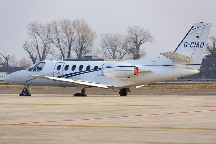 D-CIAO Ce550 550-0255/283 ACH Hamburg Flug @ Treviso Airport 14.02.2012 © Piti Spotter Club Verona