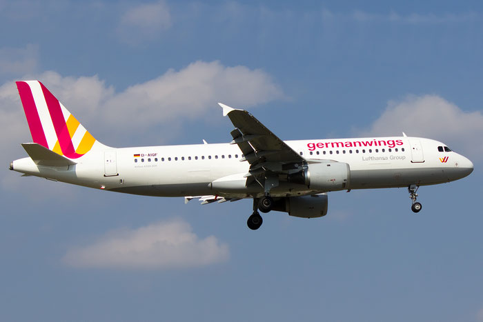 D-AIQF A320-211 216 Germanwings @ Bologna Airport 07.09.2014 © Piti Spotter Club Verona