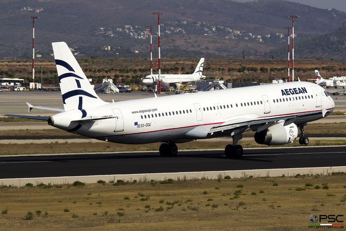 SX-DGA  A321-231  3878  Aegean Airlines  @ Athens 2019 © Piti Spotter Club Verona