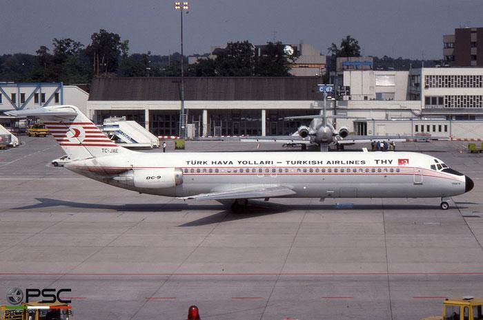TC-JAE DC-9-32 47489/528 Turkish Airlines - THY Türk Hava Yollari © 2018 courtesy of Marco Ceschi - Piti Spotter Club Verona