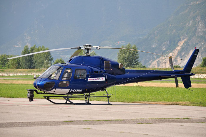 F-GMBA Aerospatiale AS-355N Ecureuil AS55 @ Aeroporto di Trento © Piti Spotter Club Verona