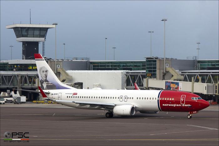 LN-DYR B737-8JP 40870/3660 Norwegian @ Amsterdam Airport 09.2013 © Piti Spotter Club Verona