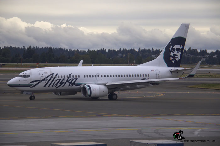 N618AS B737-790 30543/536 Alaska Airlines @ Seattle Tacoma Airport 25.09.2013 © Piti Spotter Club Verona