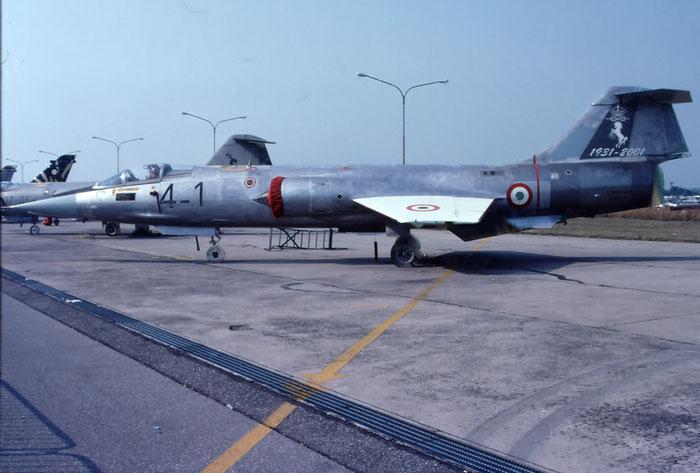 MM6505  4-1  F-104G  6505  Grosseto (GR) @ Aeroporto di Verona © Piti Spotter Club Verona