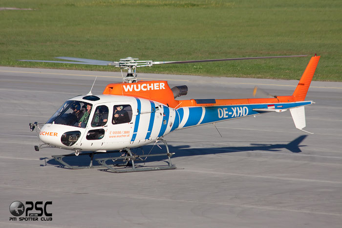 OE-XHO Eurocopter AS350B3 Ecureuil Serial 3549 @ Innsbruck Airport 26.10.2013 © Piti Spotter Club Verona