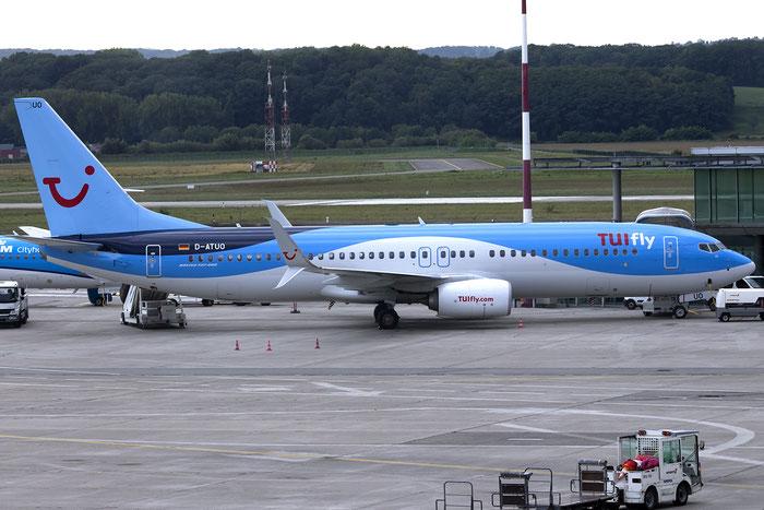 D-ATUO B737-8K5 41661/5292 TUIfly @ Basel Airport 09.2015 © Piti Spotter Club Verona