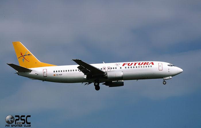 EC-HCP  B737-46B  24124/1679  Futura International Airways  @ Aeroporto di Verona © Piti Spotter Club Verona