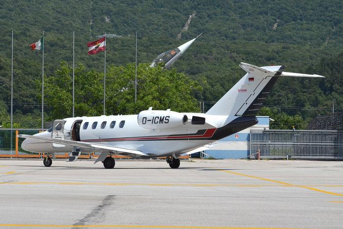 D-ICMS Ce525A 525A-0108 Brose @ Aeroporto di Trento © Piti Spotter Club Verona