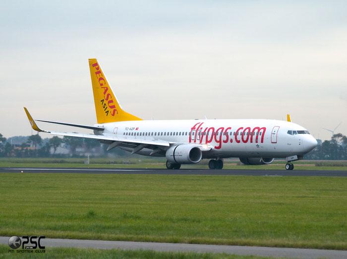 TC-AZP B737-82R 38176/3896 Pegasus Airlines @ Amsterdam Airport 20.09.2013 © Piti Spotter Club Verona