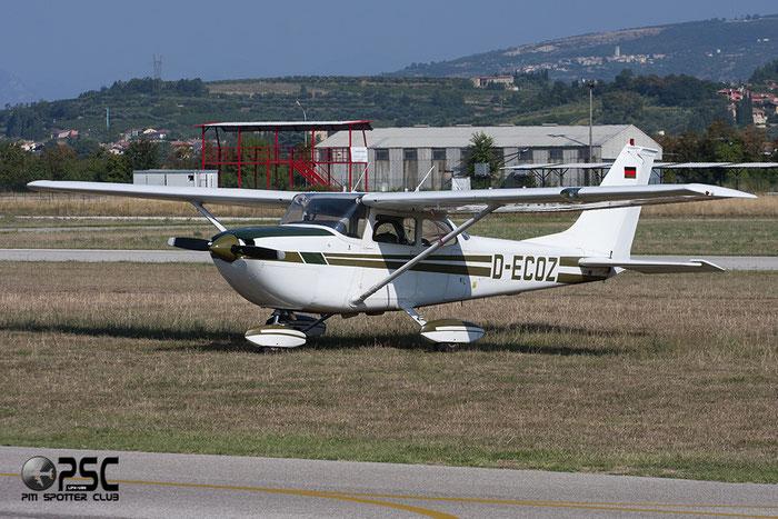D-ECOZ Reims Aviation FR172H Rocket C172 0274 @ Aeroporto Verona Boscomantico © Piti Spotter Club Verona