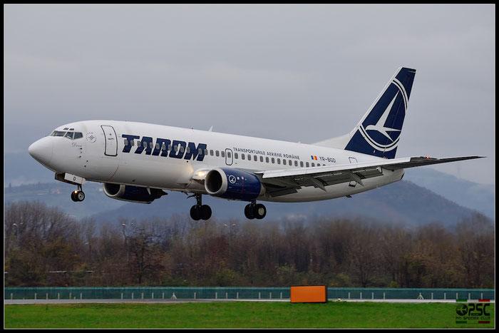 YR-BGD B737-38J 27182/2663 TAROM - Transporturile Aeriene Romane @ Bergamo Airport 07.12.2014 © Piti Spotter Club Verona