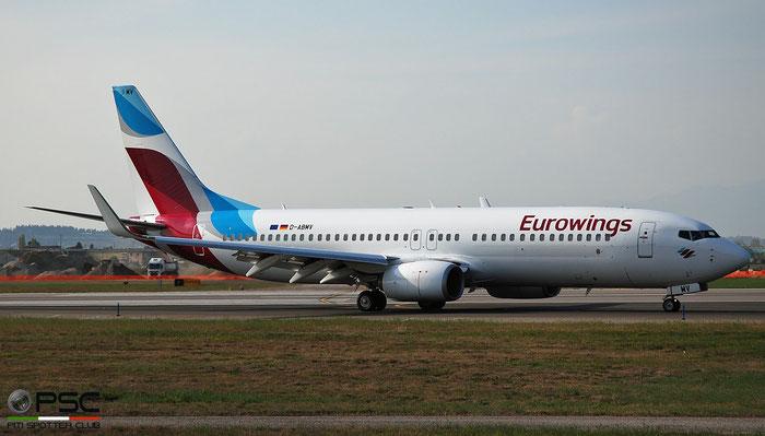 D-ABMV B737-86J 37785/4698 Eurowings @ Aeroporto di Verona 04.2019  © Piti Spotter Club Verona