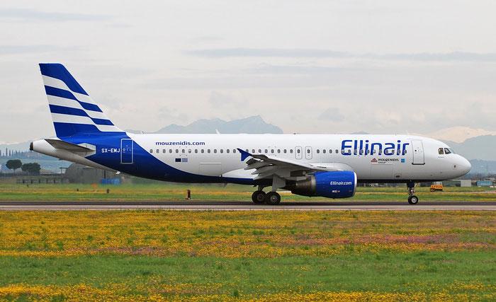 SX-EMJ A320-214 1637 Ellinair @ Aeroporto di Verona 11.04.2018  © Piti Spotter Club Verona