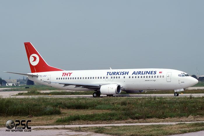 TC-JDZ  B737-4Y0  26066/2301  Turkish Airlines - THY Türk Hava Yollari  @ Aeroporto di Verona © Piti Spotter Club Verona