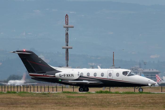G-FXKR Beech 400XT RK-279 Flexjet Ltd. @ Aeroporto di Verona 25.08.2018  © Piti Spotter Club Verona