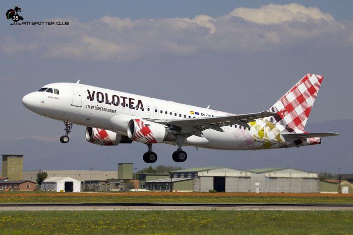EC-NCB A319-111 2043 Volotea Air @ Aeroporto di Verona 04.2019  © Piti Spotter Club Verona