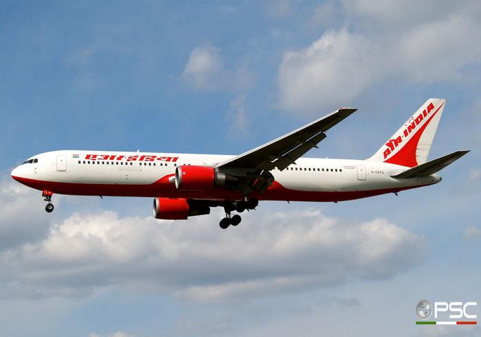 G-CEFG B767-319ER 26264/555 Air India @ London Heathrow Airport 15.04.2008 © Piti Spotter Club Verona