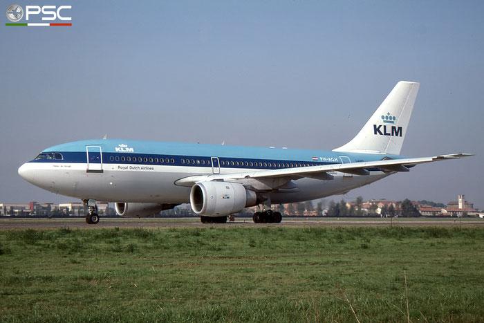 PH-AGH A310-203 362 KLM Royal Dutch Airlines © 2017 courtesy of Marco Ceschi - Piti Spotter Club Verona