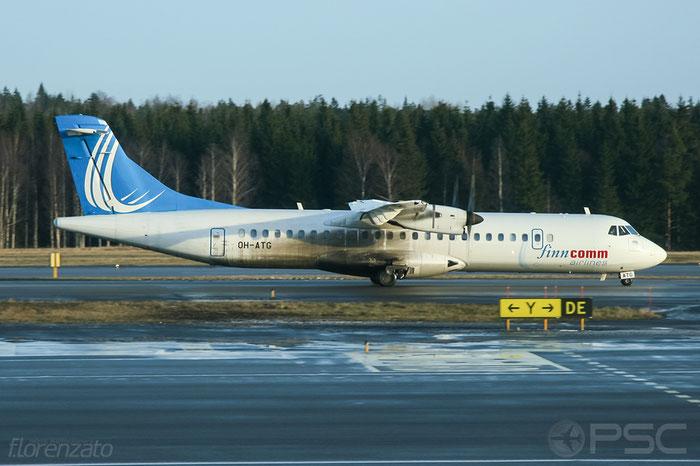 OH-ATG ATR72-212A 757 FinnComm Airlines @ Helsinki Airport 2008 © Piti Spotter Club Verona