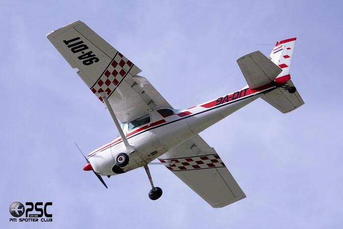 9A - DIT - Cessna A150K Aerobat - Private @ Aeroporto di Bolzano © Piti Spotter Club Veron