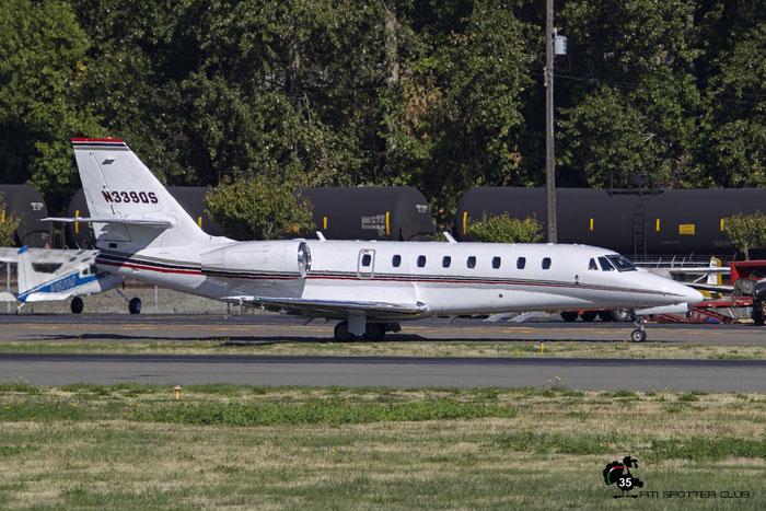 N339QS Ce680 680-0191 NetJets @ Boeing Field Airport 22.09.2015 © Piti Spotter Club Verona