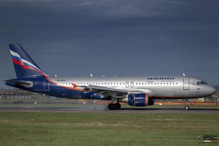 VP-BZO A320-214 3574 Aeroflot @ Aeroporto di Verona 11.2018  © Piti Spotter Club Verona
