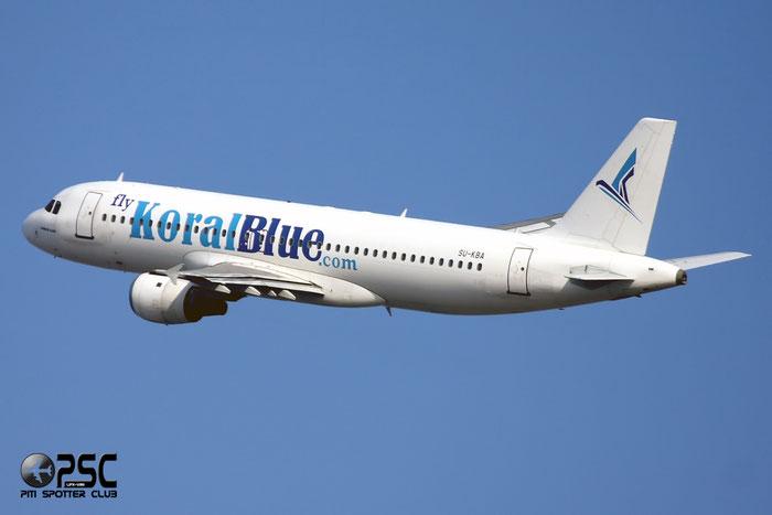 SU-KBA A320-212 937 Koral Blue @ Milano Malpensa Airport 12.2007 © Piti Spotter Club Verona