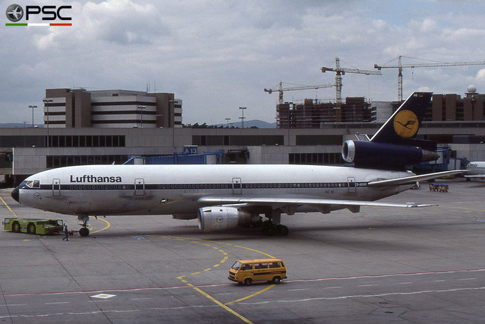 D-ADHO DC-10-30 47927/190 Lufthansa © 2018 courtesy of Marco Ceschi - Piti Spotter Club Verona