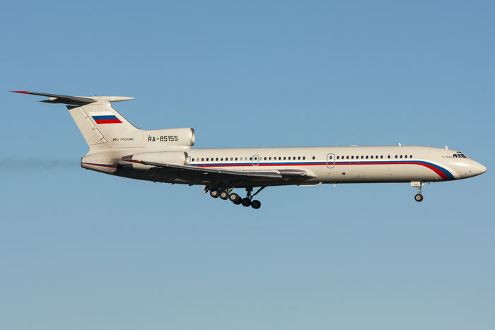 10A1000 Tu-154M RA-85155 (2) Russian Air Force @ Trieste Airport 26.11.2013 © Piti Spotter Club Verona