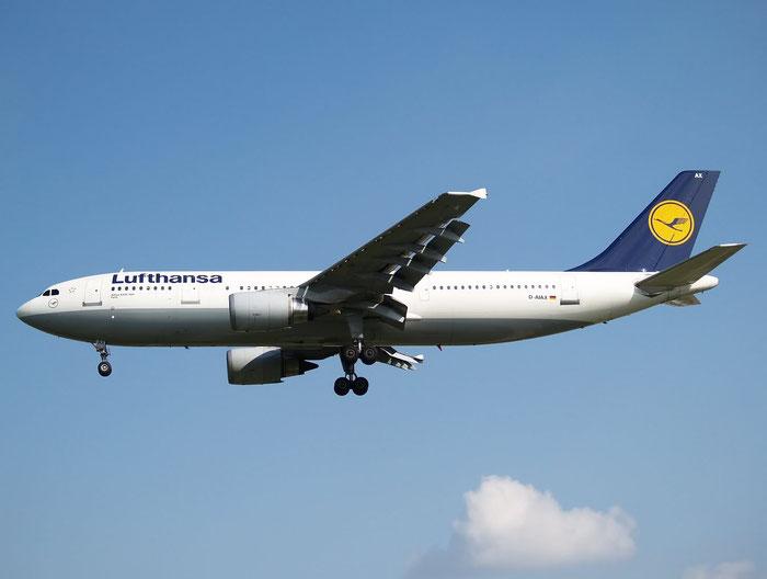 D-AIAX A300B4-605R 773 Lufthansa @ London Heathrow Airport  08.2007 © Piti Spotter Club Verona