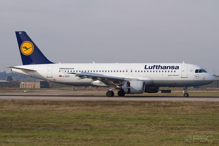 D-AIZO A320-214 5441 Lufthansa @ Aeroporto di Verona 20.01.2018  © Piti Spotter Club Verona