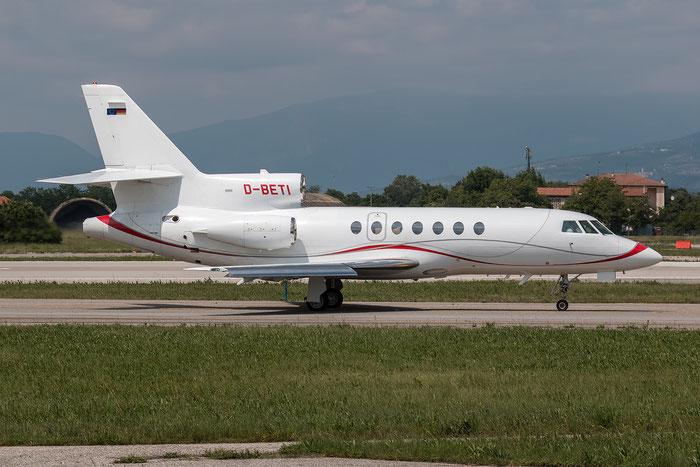 D-BETI Falcon 50EX 267 Adolf Würth GmbH & Co. KG @ Aeroporto di Verona 10.05.2017  © Piti Spotter Club Verona
