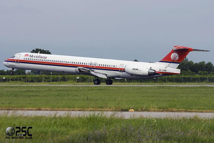 EI-CRE  MD-83  49854/1601  Meridiana  @ Aeroporto di Verona © Piti Spotter Club Verona
