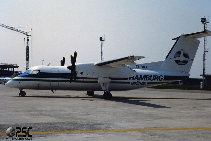 EI-BWX  DHC-8-102  113  Hamburg Airlines  @ Aeroporto di Verona © Piti Spotter Club Verona