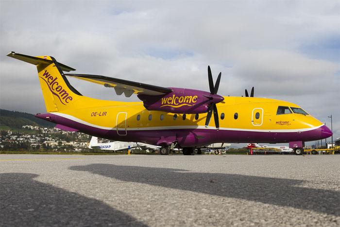 OE-LIR Do328-110 3115 Welcome Air @ Innsbruck Airport 10.2014 © Piti Spotter Club Verona