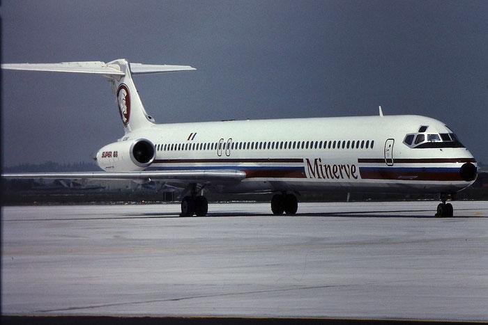 F-GGMC  MD-83  49709/1542  Minerve  @ Aeroporto di Verona © Piti Spotter Club Verona