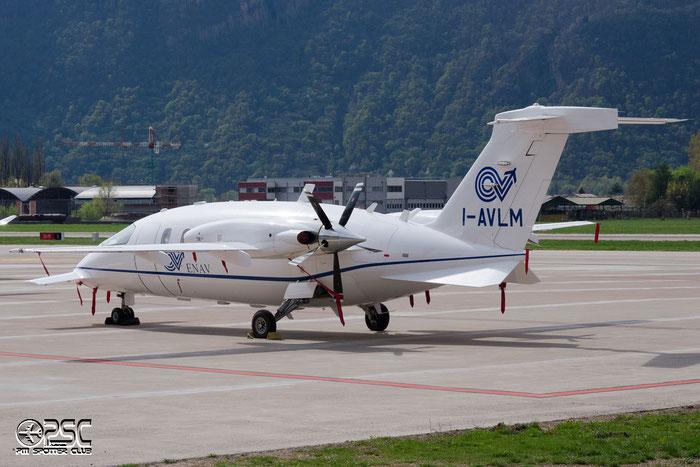 I-AVLM P180 1218 Piaggio Aero Industries SpA - ENAV @ Aeroporto di Bolzano © Piti Spotter Club Verona