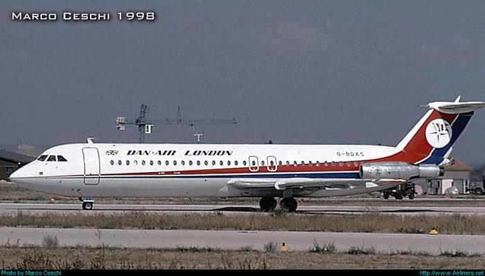 G-BDAS  BAe111-518FG  202  Dan-Air London   @ Aeroporto di Verona © Piti Spotter Club Verona