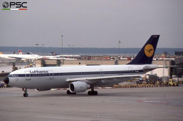 D-AIAP A300B4-603 414 Lufthansa © 2018 courtesy of Marco Ceschi - Piti Spotter Club Verona