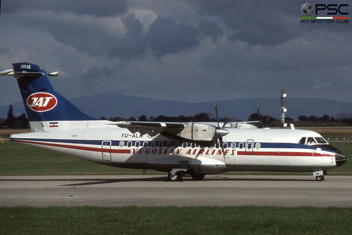 YU-ALM ATR42-310 005 JAT Yugoslav Airlines - Jugoslovenski Aerotransport © 2018 courtesy of Marco Ceschi - Piti Spotter Club Verona