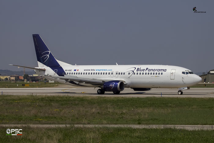 9H-HUE B737-430 27003/2328 Blue Panorama Airlines @ Aeroporto di Verona 09.04.2017  © Piti Spotter Club Verona