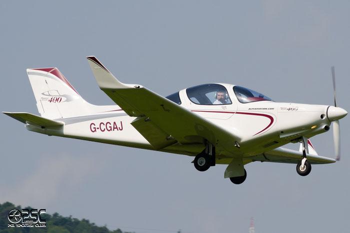 G-CGAJ - Alpi Pioneer 400 - Privato  @ Aeroporto di Bolzano © Piti Spotter Club Verona