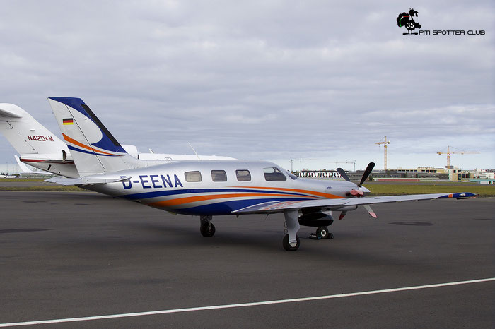 D-EENA Piper PA-46-350P Malibu Meridian  Private - @ Reykjavik 08.2019 © Piti Spotter Club Verona