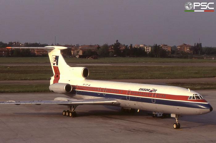 OK-LCP 81A488 Tu-154B-2 OK-LCP Ensor Air © 2018 courtesy of Marco Ceschi - Piti Spotter Club Verona