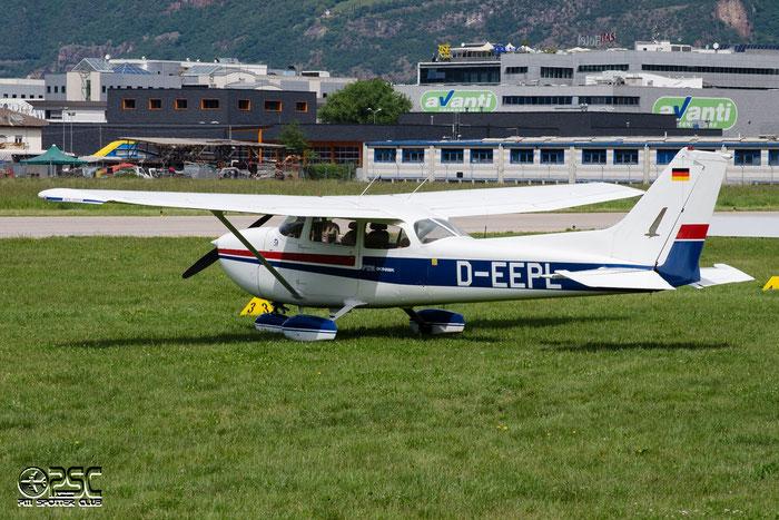 D-EEPL Reims Aviation F172N Skyhawk C172 F17201539 @ Aeroporto di Bolzano © Piti Spotter Club Verona